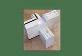 Silikon og isol.-teip for P5460 90mm veggprofiler.