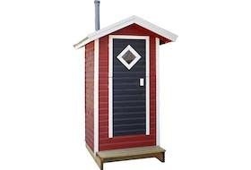 Cabane pour toilettes sèches Ecoteco