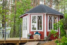 Gartenpavillon Carmencita mit 4 Fenstern