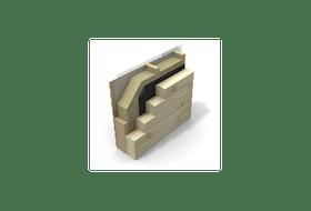 P5460, 70 mm isolering for innsiden