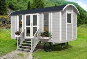 Sheperd Hut Modern + hjul