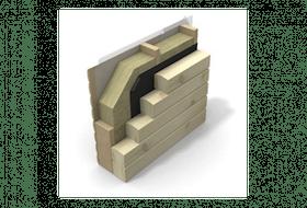 Amber isoleringspakke for vegger – 165 mm