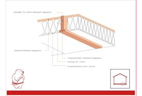 Isoleringspakke for gulv til Rosenhaga og Mariedal -190 mm