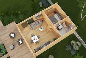 Hytte 30 m² Edwin