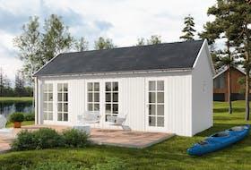Chalet bois 30 m² Mariedal