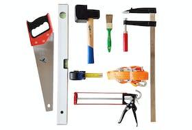 Komplet værktøjskasse